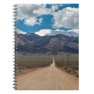 San Luis Valley Back Road Cruising Spiral Notebooks