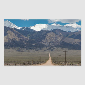 San Luis Valley Back Road Cruising Sticker