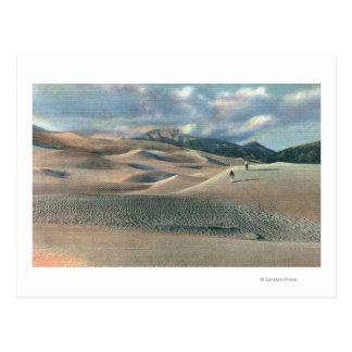 San Luis Valley, Colorado - Great Sand Dunes Postcard