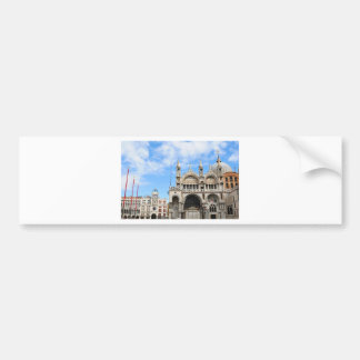 San Marco square in Venice, Italy Bumper Sticker