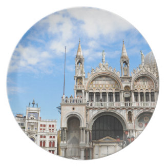 San Marco square in Venice, Italy Plate