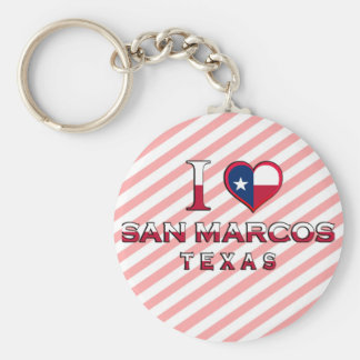 San Marcos, Texas Keychain