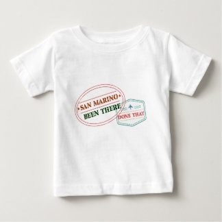 San Marino Been There Done That Baby T-Shirt