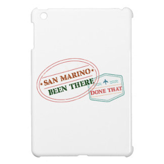 San Marino Been There Done That iPad Mini Covers