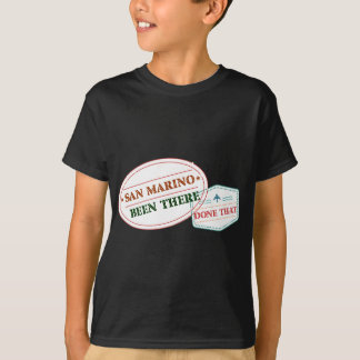 San Marino Been There Done That T-Shirt
