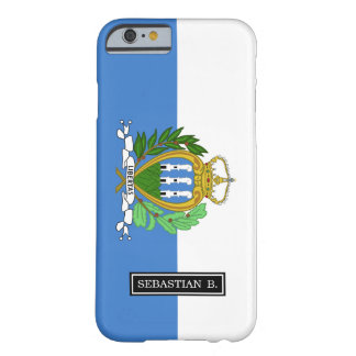 San Marino Flag Barely There iPhone 6 Case