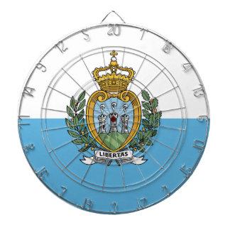 San Marino Flag Dartboard