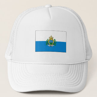San Marino FLAG International Trucker Hat