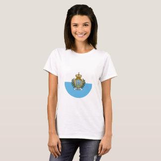 San Marino Flag T-Shirt