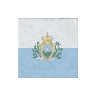 San Marino Stone Magnet