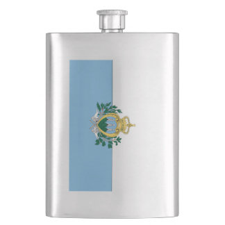 San Marino Hip Flask