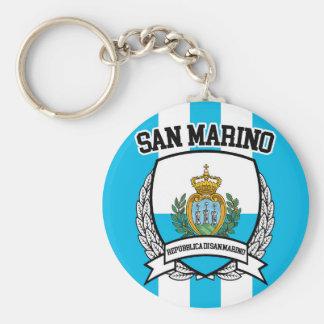 San Marino Keychain