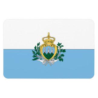San Marino Rectangular Photo Magnet