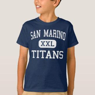 San Marino - Titans - High - San Marino California T-Shirt
