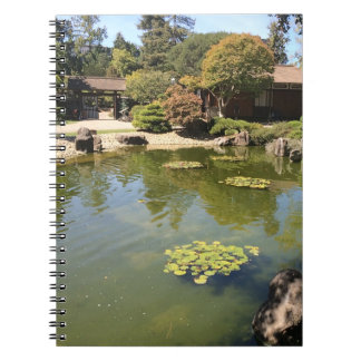 San Mateo Japanese Garden Notebook