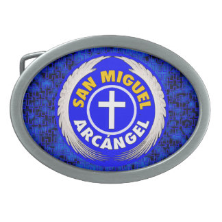 San Miguel Arcangel Belt Buckles