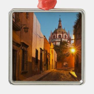 San Miguel de Allende, Mexico. Credit as: Nancy Metal Ornament