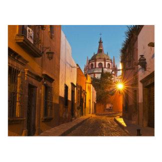San Miguel de Allende, Mexique. Crédit comme : Carte Postale