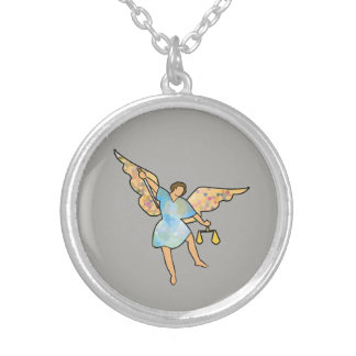 San Miguel medal Archangel Silver Plated Necklace