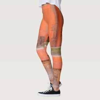 """San Miguel """"Orange Plaster"""" Street Leggings"""