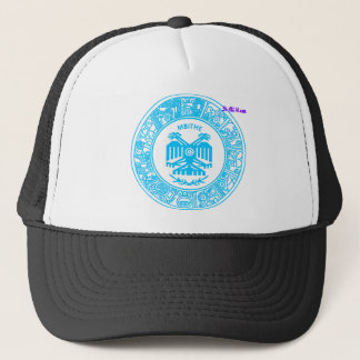 SAN PABLITO/MBITHE  AZUL T  CUSTOMIZABLE PRODUCTS TRUCKER HAT