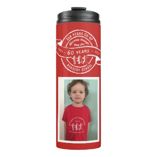 San Pedro Co-Op  60th Anniversary Photo Thermal Tumbler