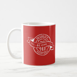 San Pedro Co-Op Nursery School 60th Anniversary Coffee Mug
