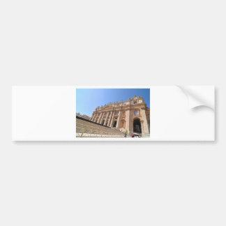San Pietro basilica in Vatican, Rome, Italy Bumper Sticker