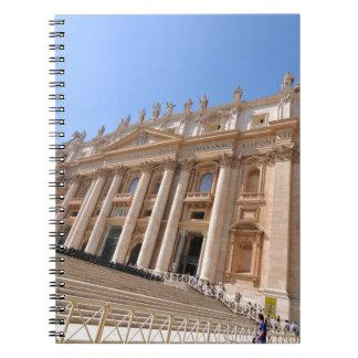 San Pietro basilica in Vatican, Rome, Italy Notebooks