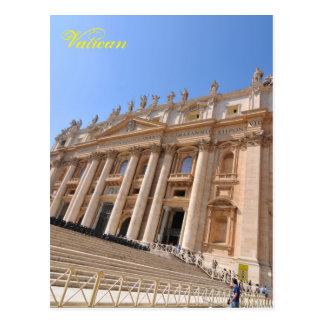 San Pietro basilica in Vatican, Rome, Italy Postcard
