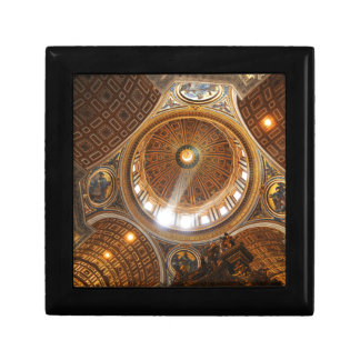San Pietro basilica interior in Rome, Italy Gift Box