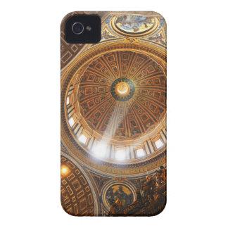 San Pietro basilica interior in Rome, Italy iPhone 4 Case