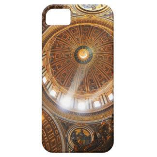 San Pietro basilica interior in Rome, Italy iPhone 5 Cover