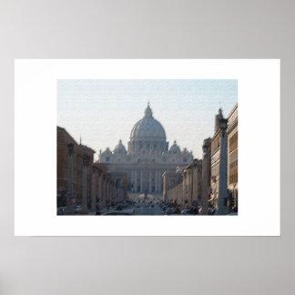 San Pietro (Roma) Poster
