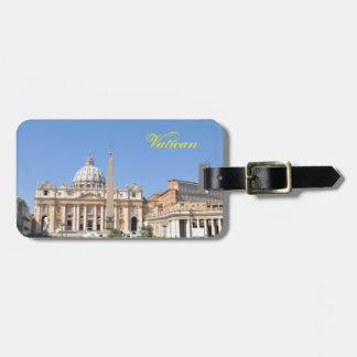 San Pietro square in Vatican, Rome, Italy Luggage Tag