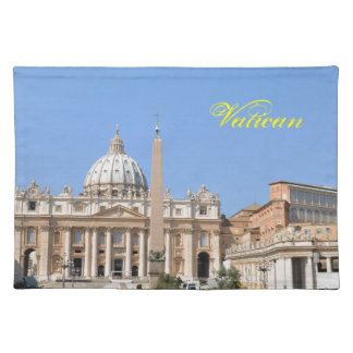 San Pietro square in Vatican, Rome, Italy Placemat