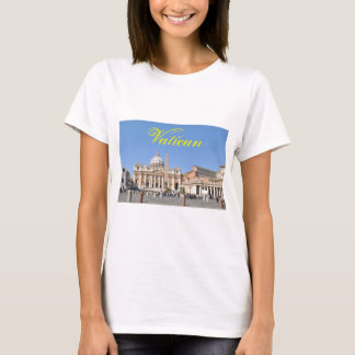 San Pietro square in Vatican, Rome, Italy T-Shirt