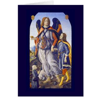 San Rafael Saint Raphael Card