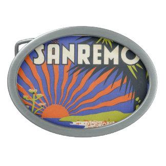 San Remo Belt Buckle