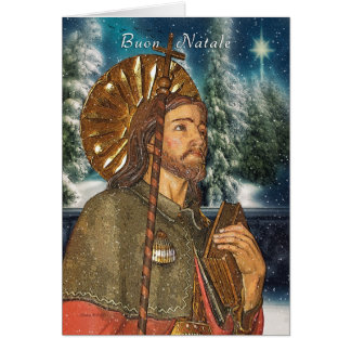 San Rocco - Buon Natale - Italian  - Christmas Card