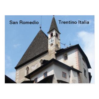 San Romedio Postcard