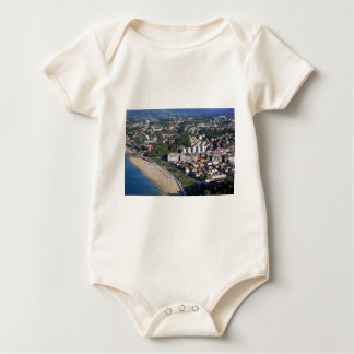 San Sebastian scenic coast Spanish Basque country Baby Bodysuit