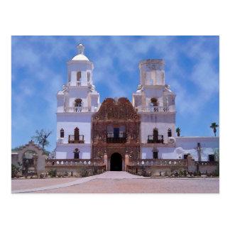 San Xavier del Bac Mission - Tucson, AZ Postcard