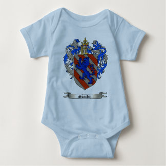 Sanchez (of Asturias) Coat of Arms Baby Bodysuit