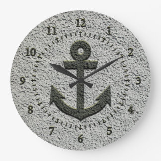 Sand Anchor Wall Clocks