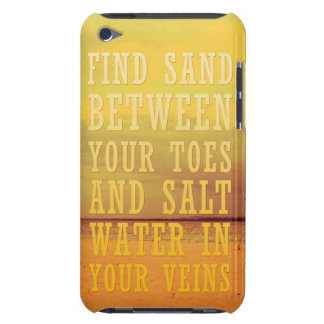 Sand and Salt Water | Vintage Summer Fun Barely There iPod Case