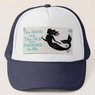 sand and sea mermaid hat
