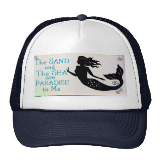 sand and sea mermaid hat