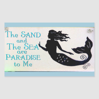 sand and sea mermaid sticker