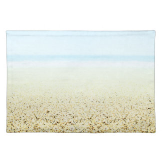 SAND AND SEA Serene Summer Seascape Placemat